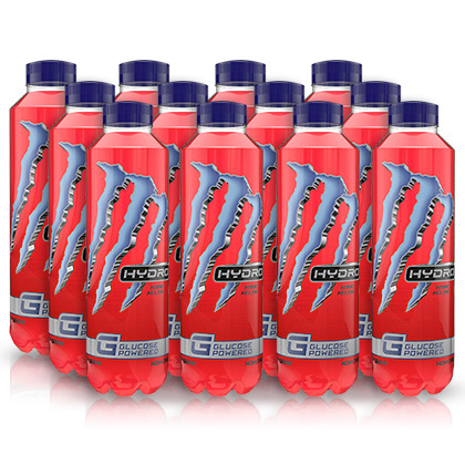 Monster Hydro Glucose Powered Manic Melon - 12 x 500ml