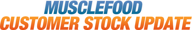 MuscleFood Stock Update