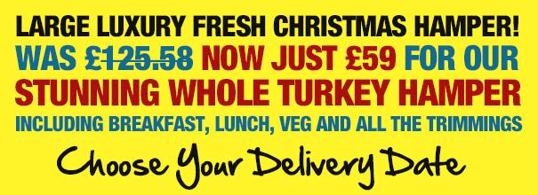 Large Luxury Fresh Christmas Hamper!