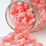 Sugar Free Strawberry Sweeties - 75g Bag