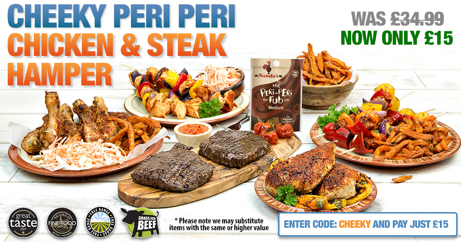Cheeky Peri Peri Hamper - Now Just £15