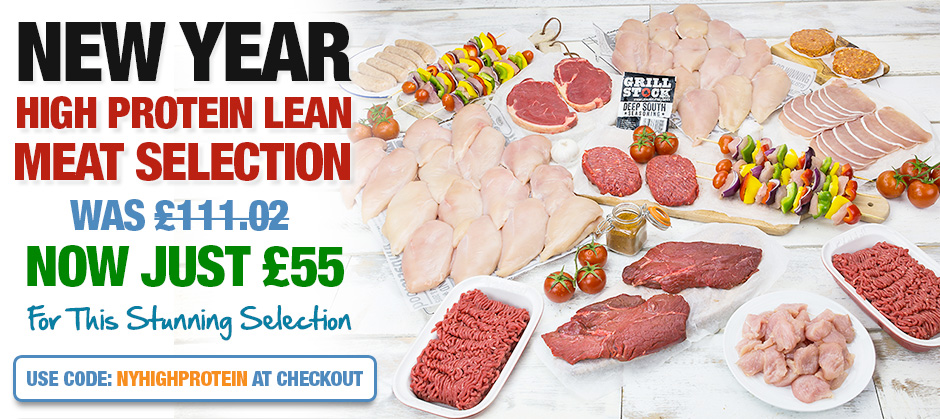 New Year High Protein Selection