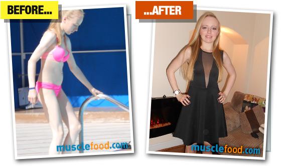 Chloe Pells - Before & After