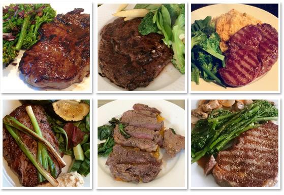 10 x 6-7oz British Rib-Eye Steaks