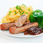 Virtually Fat Free Cumberland Sausages - 400g