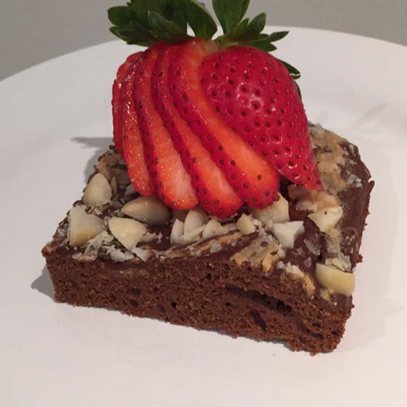 Protein Nut Brownies