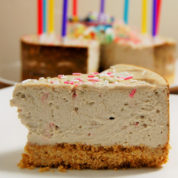 Birthday Protein Cheesecake
