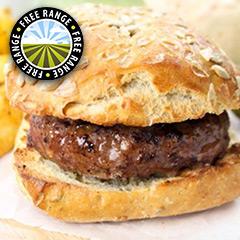 2 x 4oz Extra Lean Steak Burgers