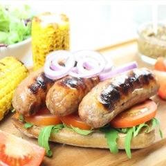 6 x 66g Low Fat Pork Sausages