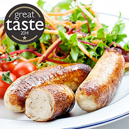 Chicken Breast Sausages - 4 x 454g