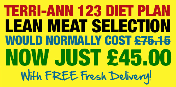 Terri-Ann 123 Diet Plan Selection: