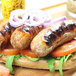 4 x Very Low Fat Pork Sausages