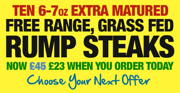 10 6-7oz Free Range British Sirloin Steaks