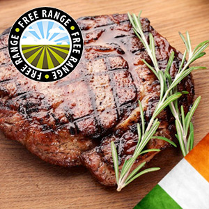 10 x 6-7oz Free Range Matured Rump Steaks****DELISTED****