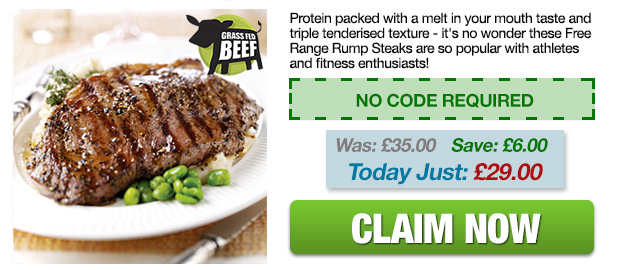 Flat Iron Steaks Offer
