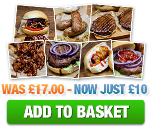 £10 Cheat Clean BBQ Hamper