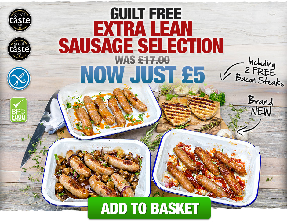 Guilt Free Extra Lean Sausage Selection: