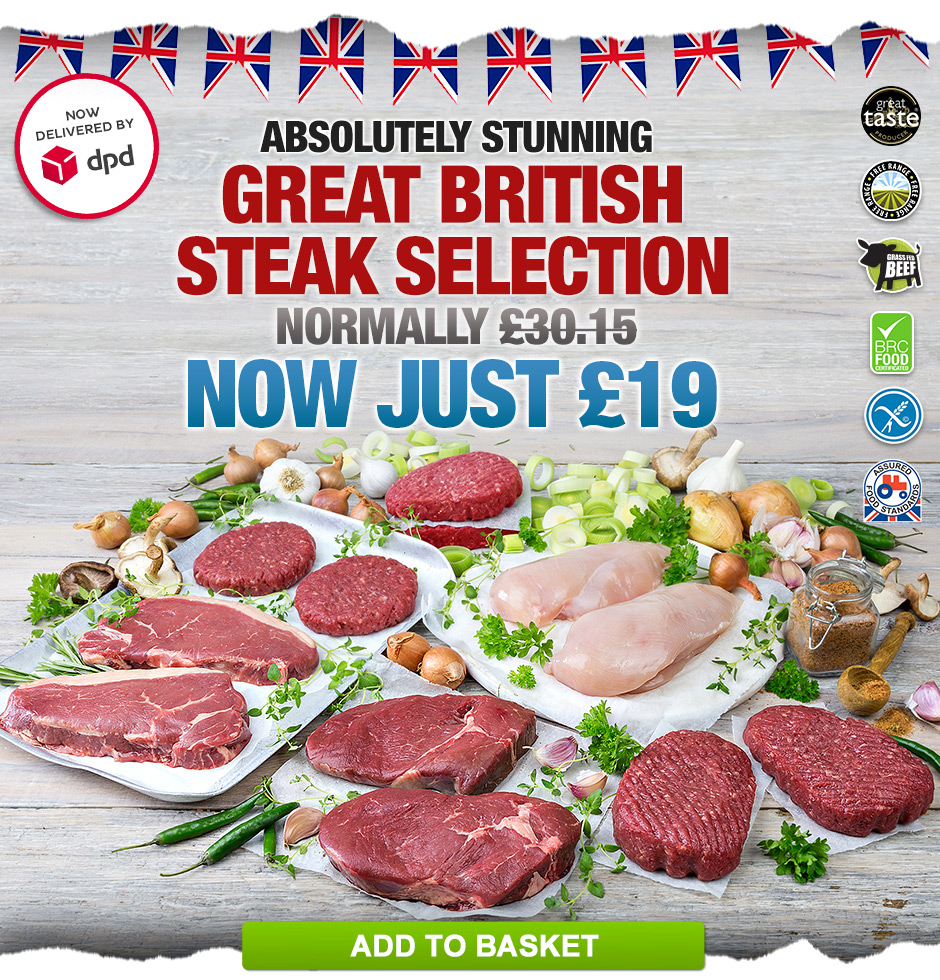 Great British Steak Selection