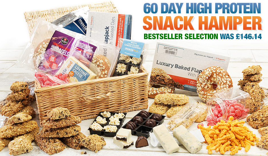 60 Day High Protein Snack Hamper