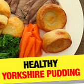 Healthy Yorkshire Puds