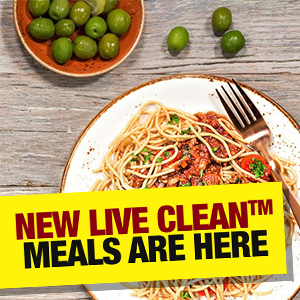 New Live Clean™ Meals Are Here