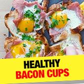 Healthy Bacon Cups