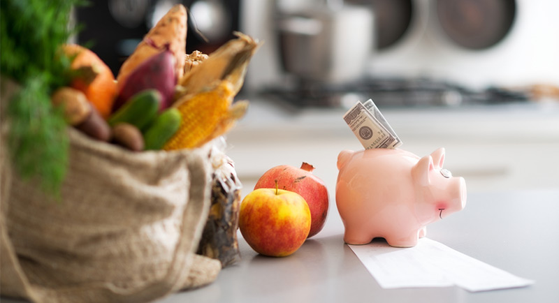 Ways to eat healthy of a budget