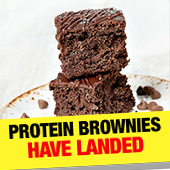 Protein Brownies have LANDED