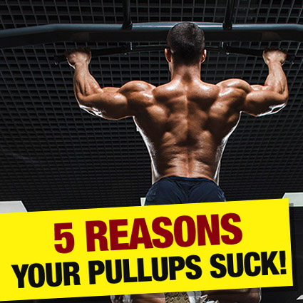 5 Reasons your pull-ups suck