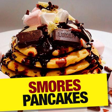Smores Pancakes Recipe
