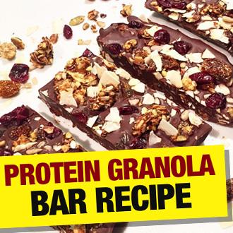 Protein Granola Bar Recipe