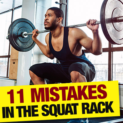 11 mistakes in squatrack