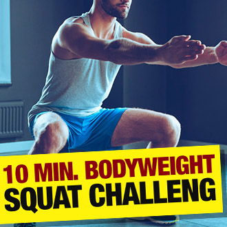 10 Minute Bodyweight Challenge