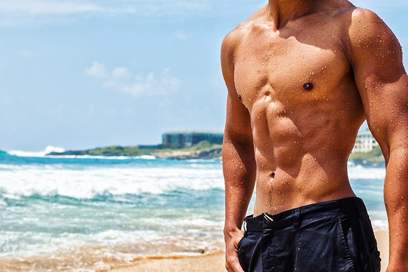 beach ready abs