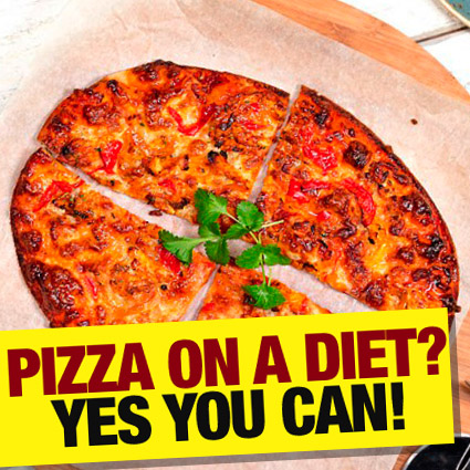 Pizza on a diet