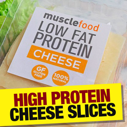 High protein cheese