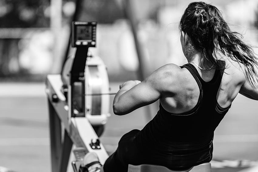 rowing machine cardio