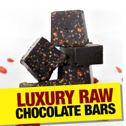 Raw Chocolate Bars