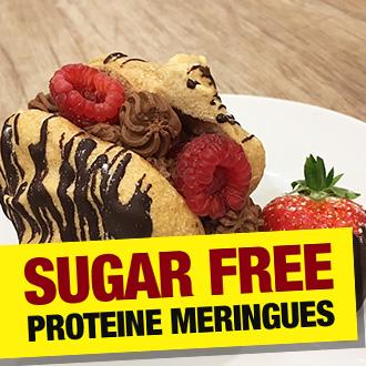 Golden Sugar Free High Protein Meringues