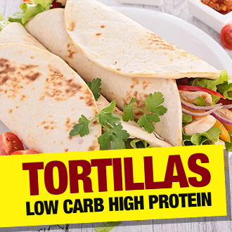 Low Carb, High Protein Tortillas