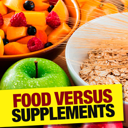 Food or Supplements