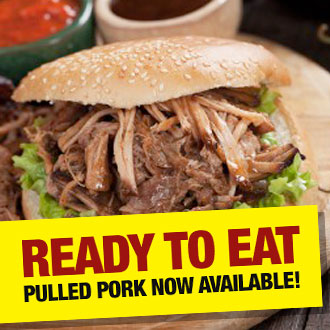 Pulled Pork now available!