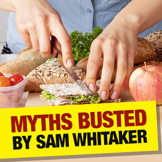 12 common nutrition myths BUSTED