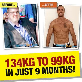 Gareth Young transformed