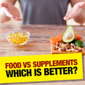 Food is good. Supplements are good