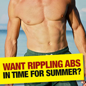 Want rippling abs in time for summer?