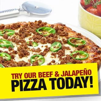 Balanced Jalapeno Pizza
