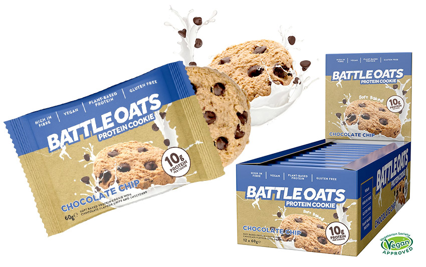 battle oats choc chip cookies
