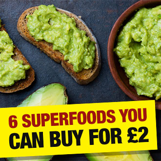 six superfoods you can buy for two pounds