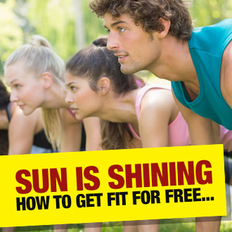 The sun is shining so why waste your time in the gym?